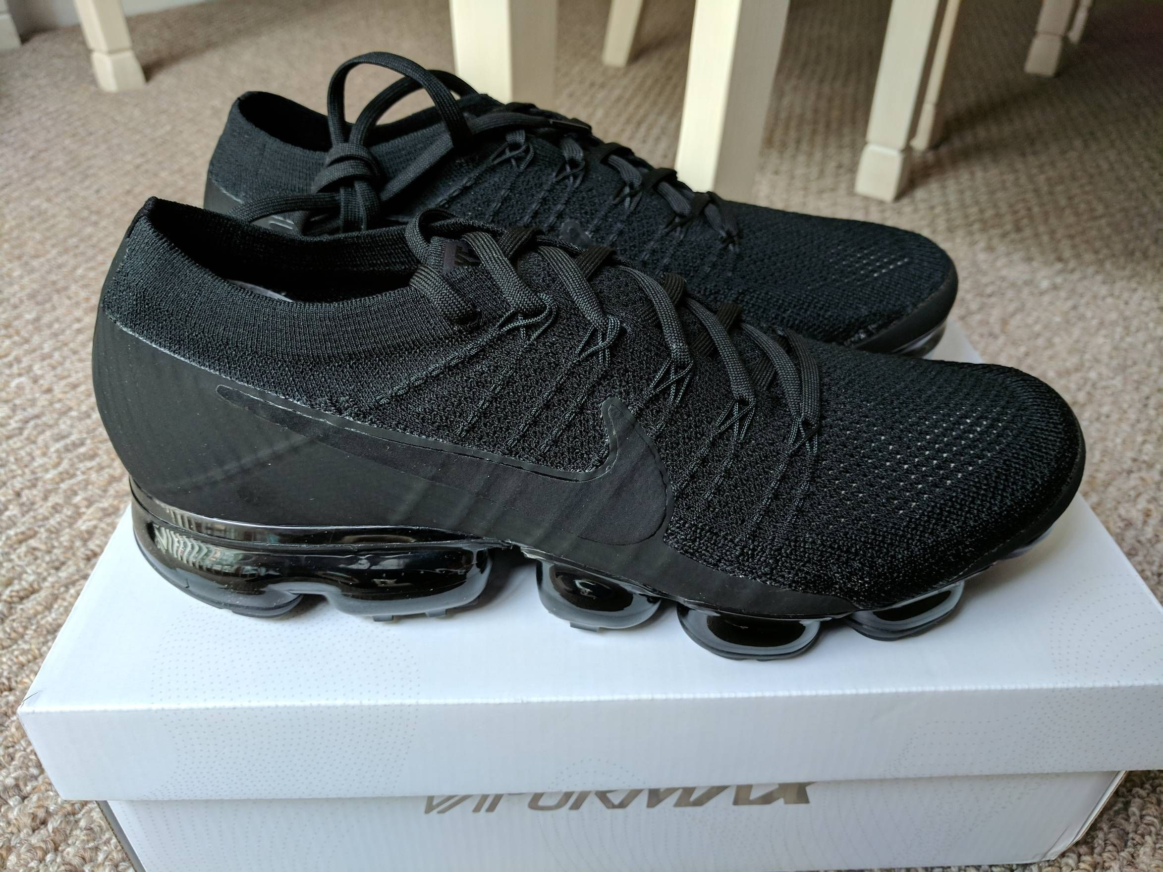 the best attitude f31a5 41b92 Nike Nike Air VaporMax Triple Black 3.0 Size US 11   EU 44 - 1