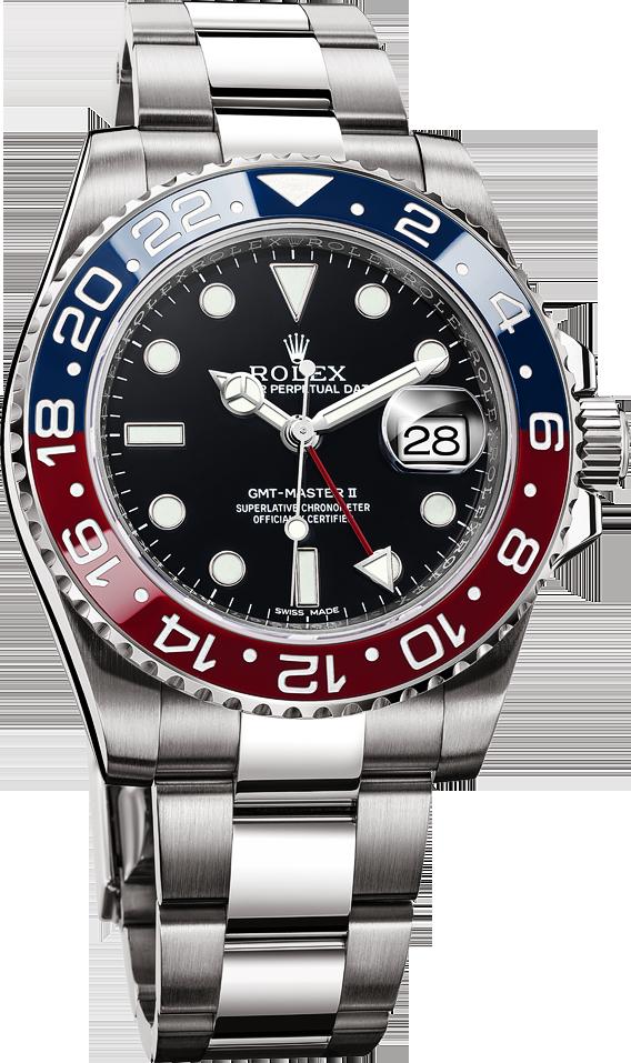 La Cote Des Montres La Montre Rolex Oyster Perpetual Gmt Master Ii La Saatler Erkek Kol Saatleri