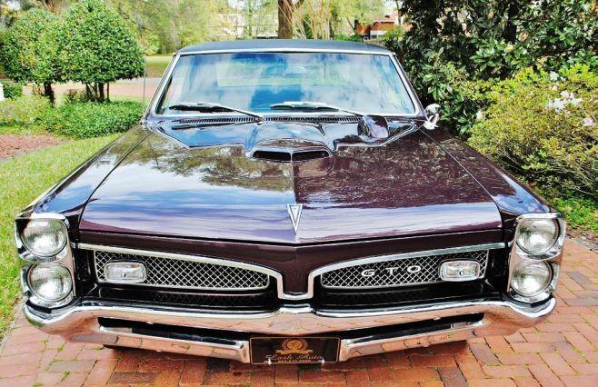 1967 Pontiac Gto Tri Power Pontiac Gto Gto Pontiac