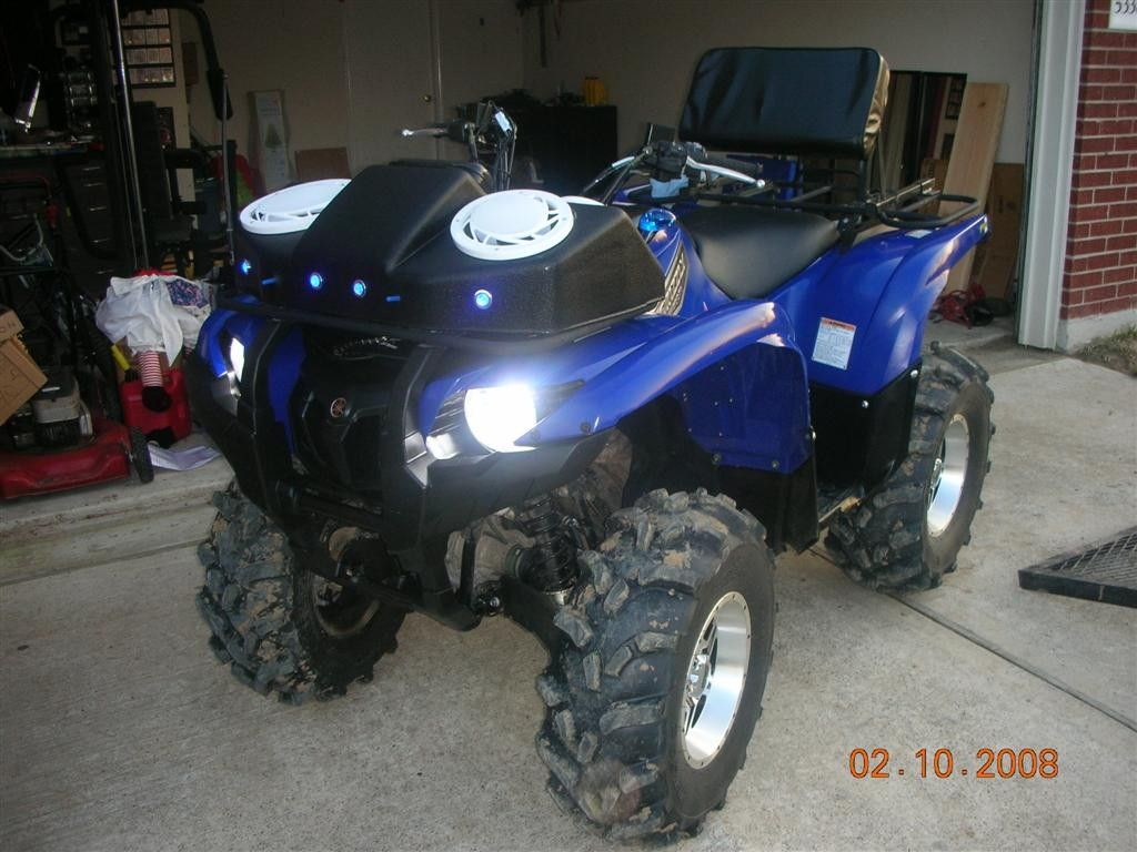 lifted honda four wheelers | inch  lift kit - Yamaha Grizzly