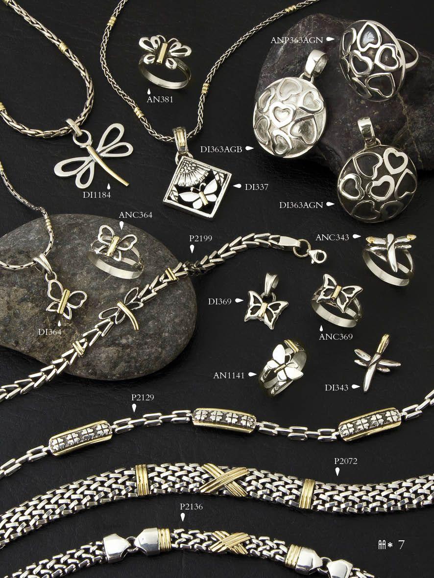 6f2c131a5496 Corazones, mariposas y libélulas. Dijes, pulseras, anillos y cadenas ...