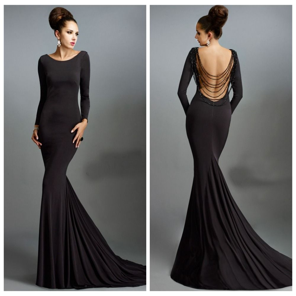 17 Best images about Long Evening Dress on Pinterest | Black prom ...