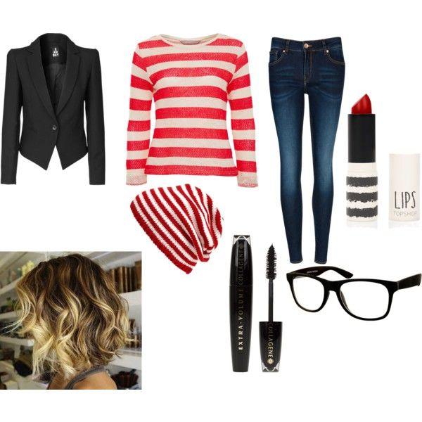Girl Version Of Waldo From Wheres Waldo Halloween Ideas