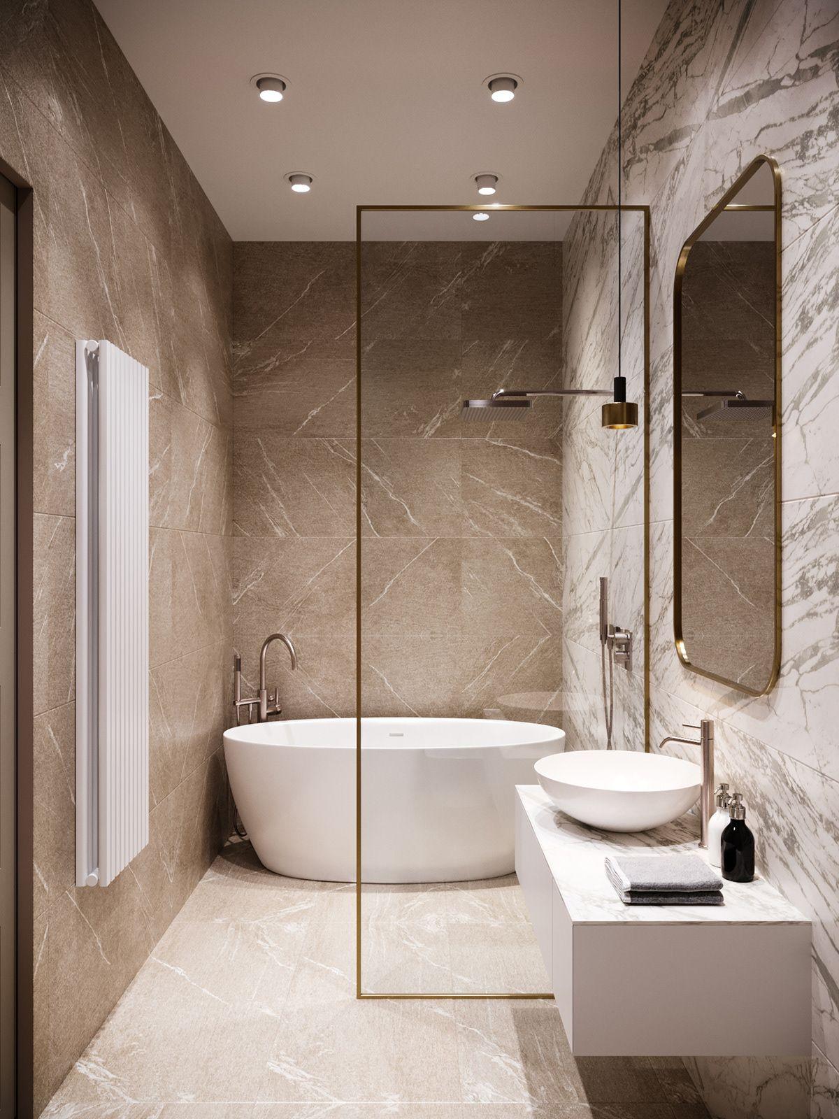 Marble On Behance Small Bathroom Interior Modern Luxury Bathroom Washroom Design Minimalist luxury small bathroom