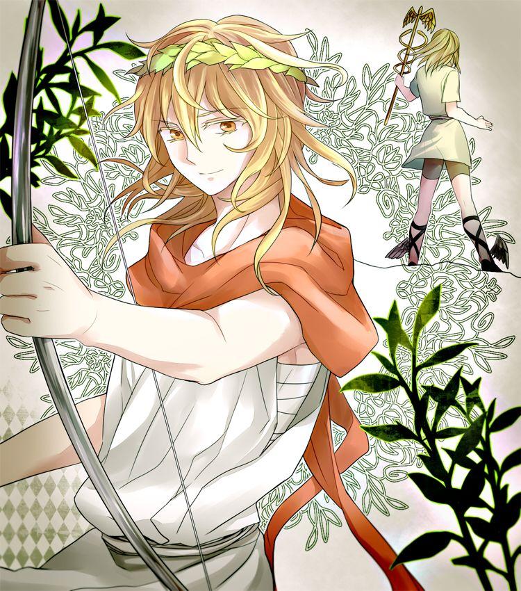 Resultado de imagen para apollo mythology anime