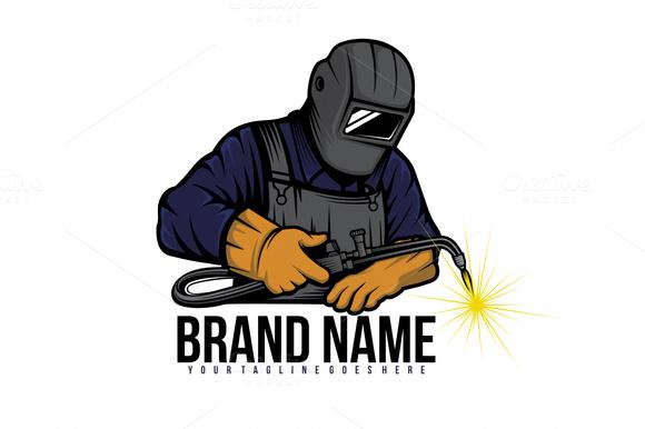 Valiant Attracted Metal Welding Crafts Web Site Logo Keren Seni Jalanan 3d Desain