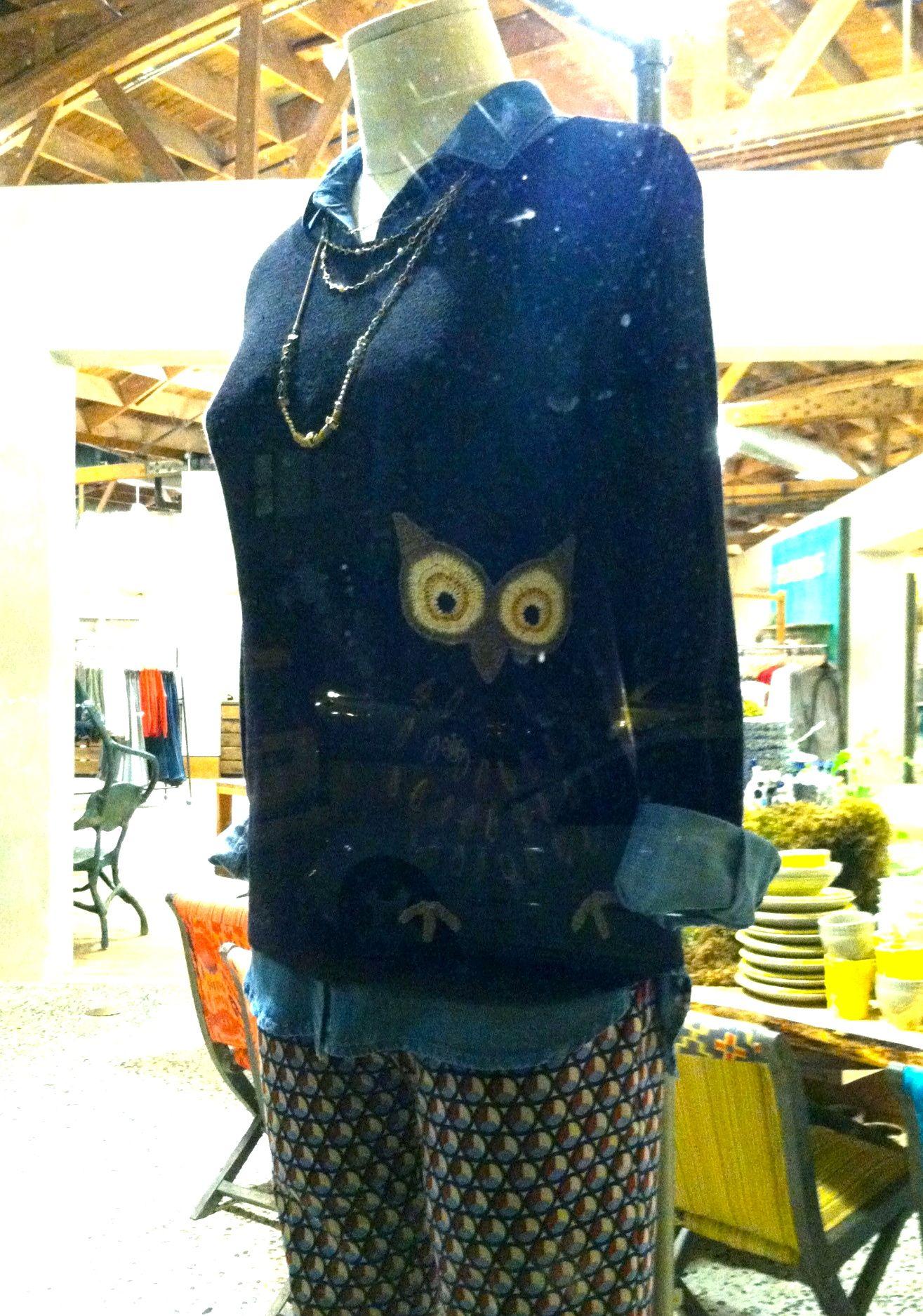 47af27f2ea49 Anthropologie Owl Sweater. PUH-LEEZZZEEE! | Birds & Butterflies ...