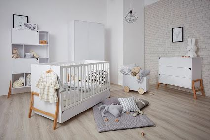 New range of our #scandi #nursery #furniture.Complete Modern baby