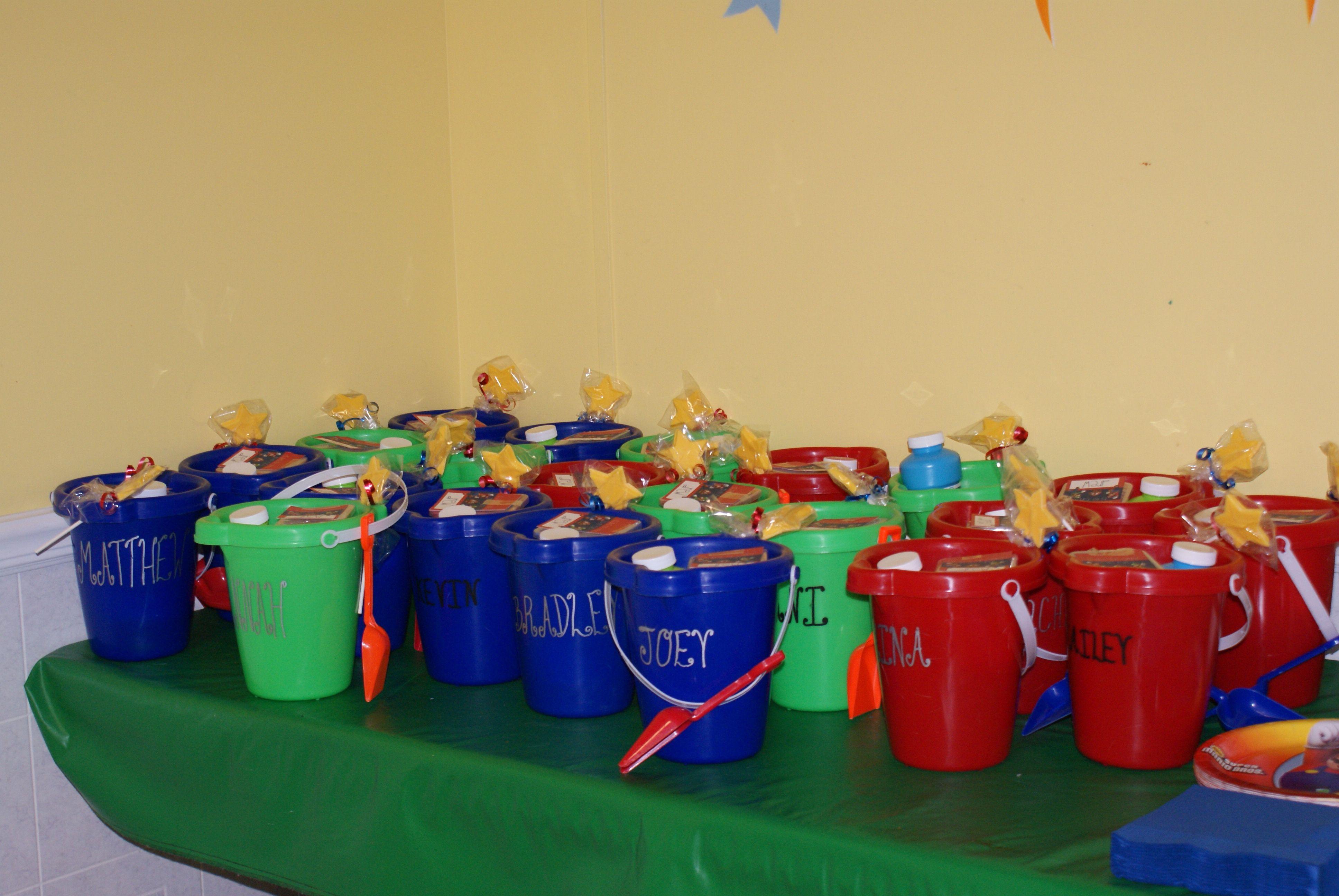 Kids party favors for super mario party super mario