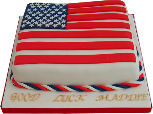 Stars and stripes american flag cake cakes pinterest for American flag cake decoration