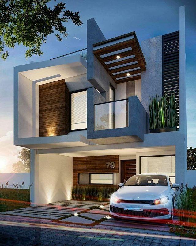 Exterior By Sagar Morkhade Vdraw Architecture 8793196382: Regram @amazing.architecture Contemporary Design By SAIV Constructora Render Eduard CB #mexico