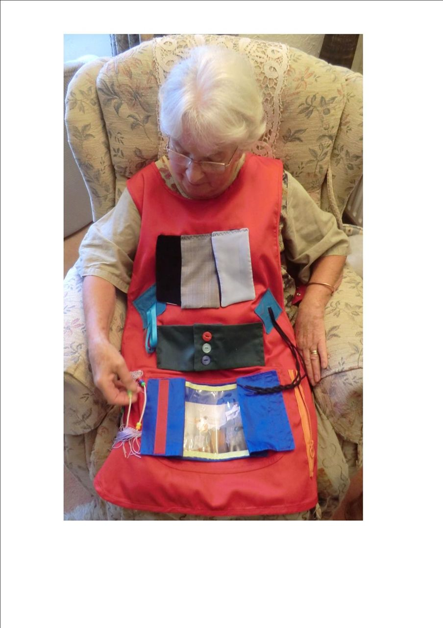picture of activity apron memory care alzheimers activities rh pinterest com