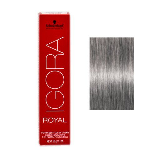 33226830d6 Schwarzkopf Igora Royal Hair Color - color : 8-11 Light Blonde Cendre Extra  Killer toner