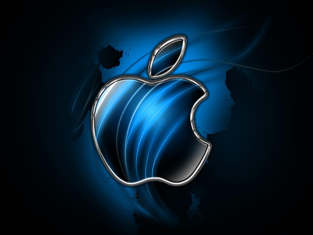 Navy Blue Apple Logo Bing images Fond d'écran de pomme