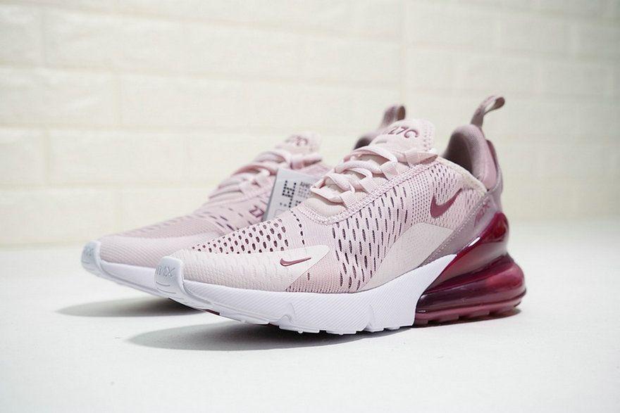 1272c9de70cc4c Sneaker paint Nike S Air Max 270 Barely Rose Vintage Wine Pink White Ah6789  601 Sneaker
