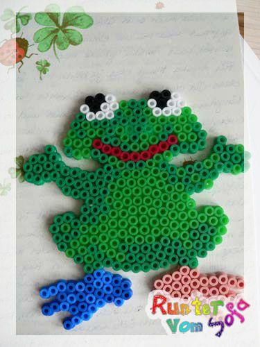 Frosch Hama Bügelperlen