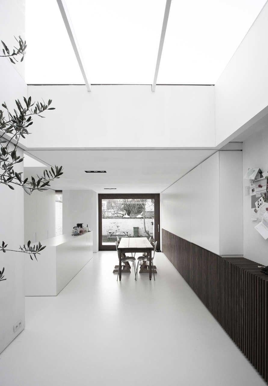 House w dr graux baeyens architecten arredamento d for Progetti architettura interni