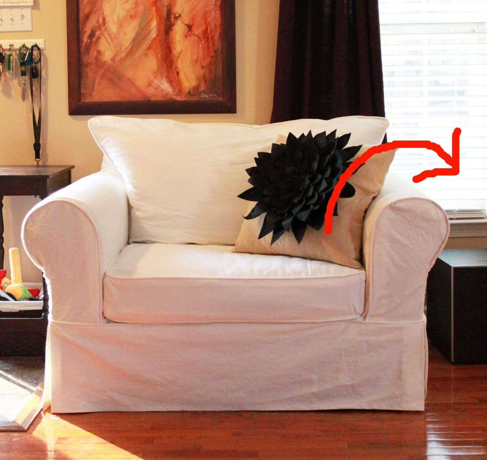 the creative imperative nasty sofa slipcover it diy pinterest rh pinterest com au