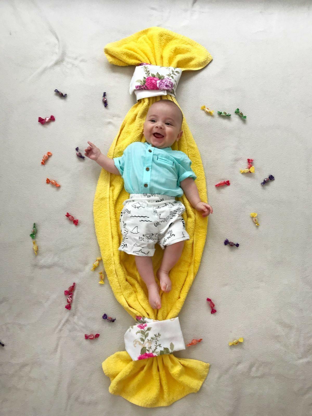 40 Amazing Baby Photoshoot Ideas At Home Diy Baby Photoshoot