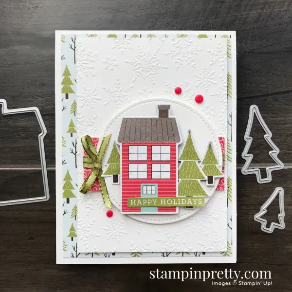 Happy Holidays with Stampin' Up! Trimming the Town in 2020