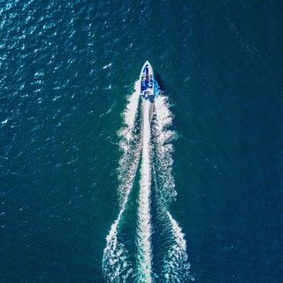 ITAP of my boat with my drone : itookapicture