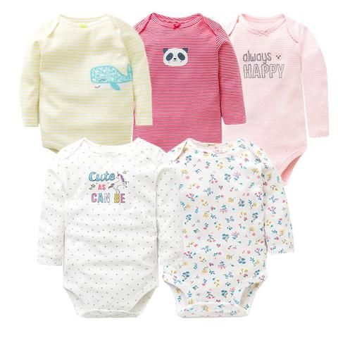 cdec9d64f 2018 Spring Autumn Cotton Baby Rompers Toddler Jumpsuit Long Sleeved ...