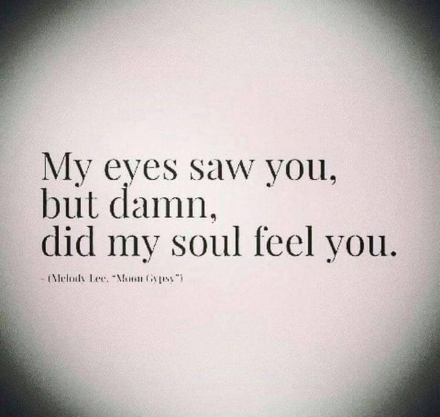 My eyes noticed you, however rattling, did my soul really feel you. #ichliebedich