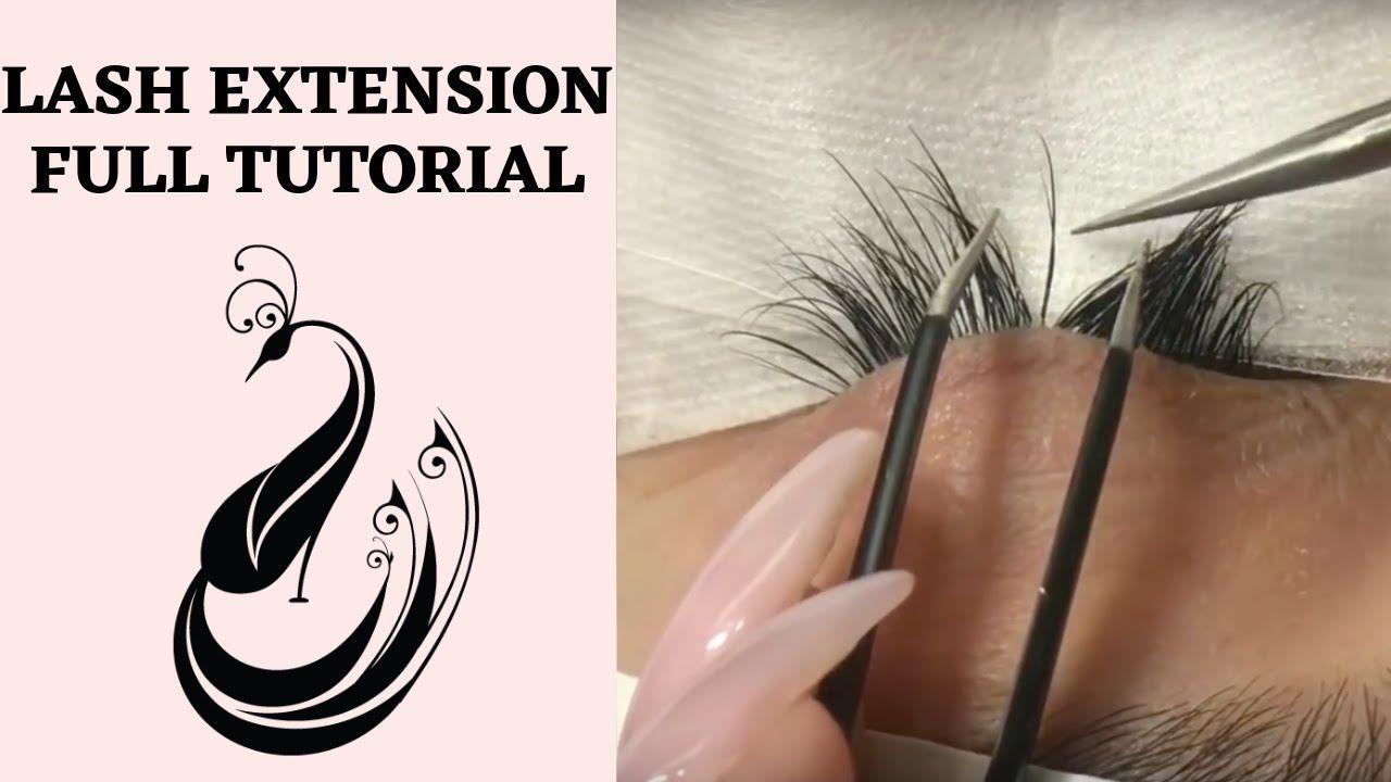 Eyelash Extensions 101   Full Tutorial on Application ...