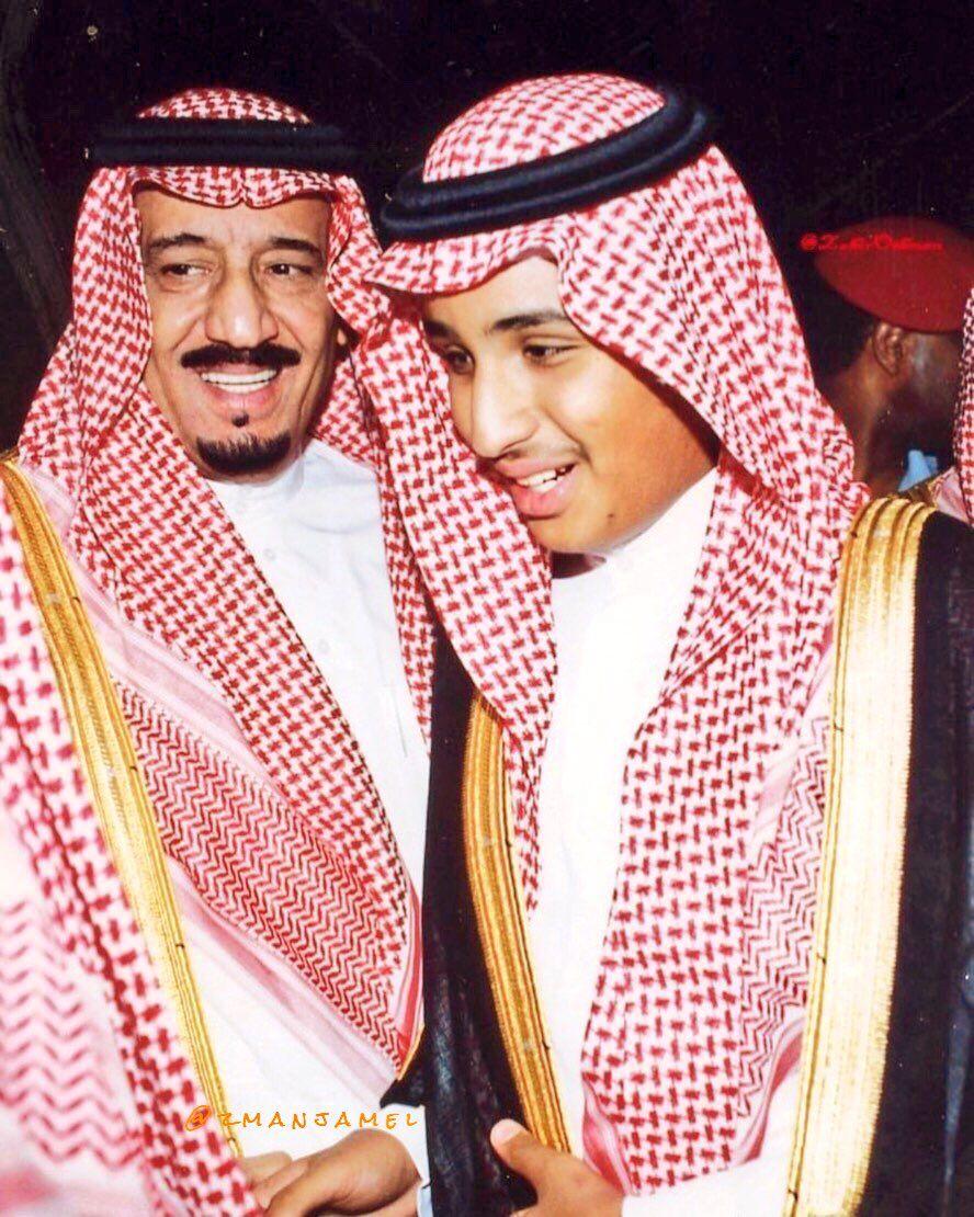 King Salman With Prince Mohammed Saudi Men King Faisal Cosplay Tips