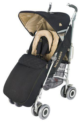 Maclaren Techno Xlr Boot Black Champagne Maclaren Baby Stroller Accessories Stroller