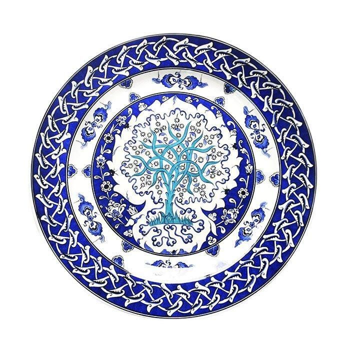 Plate - Iznik Plate |  'Tree Of Life'