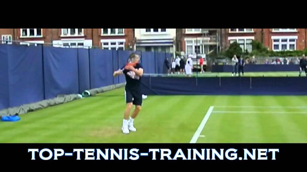 Top 10 Forehands Slow Motion Tennis