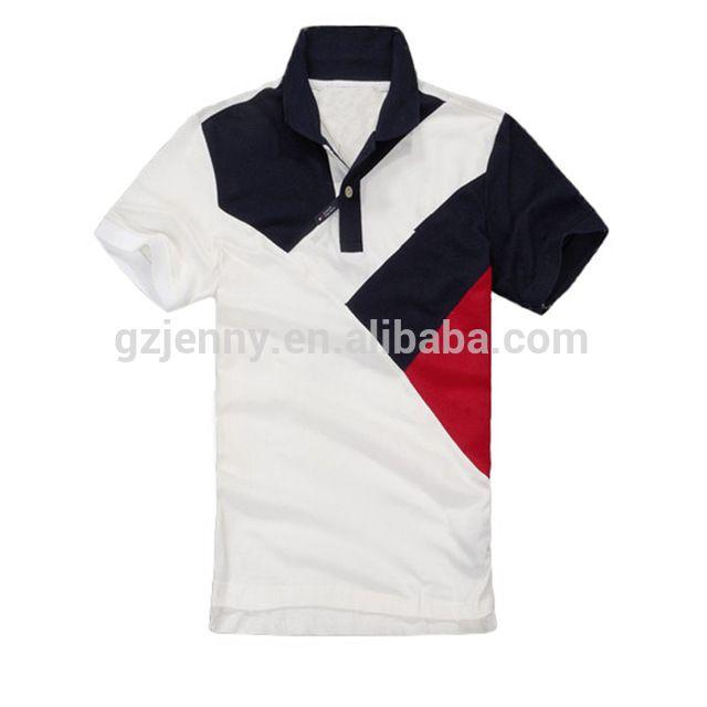 Nuevo diseño Polo para hombre 100% algodón camisa de polo colorido diseño-en  Camisetas f4e68ab50fa61