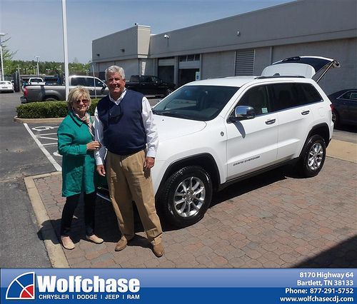 Wolfchase Chrysler Jeep would like to say Congratulations to Joseph Teagarden on the 2014 Jeep Grand Cherokee