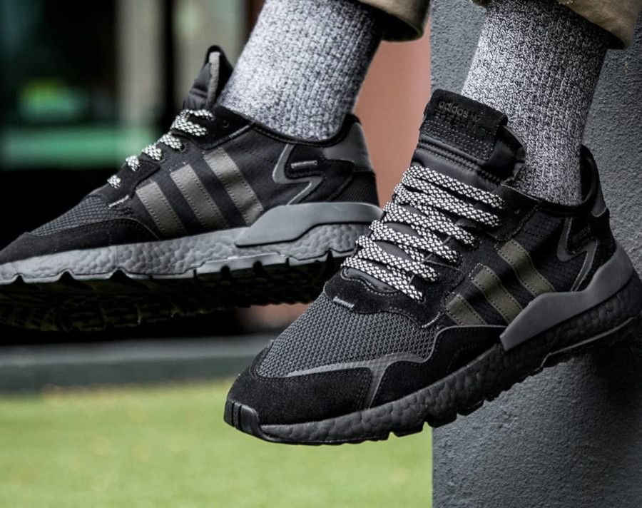 Faut il acheter la Adidas Nite Jogger noire Triple Black