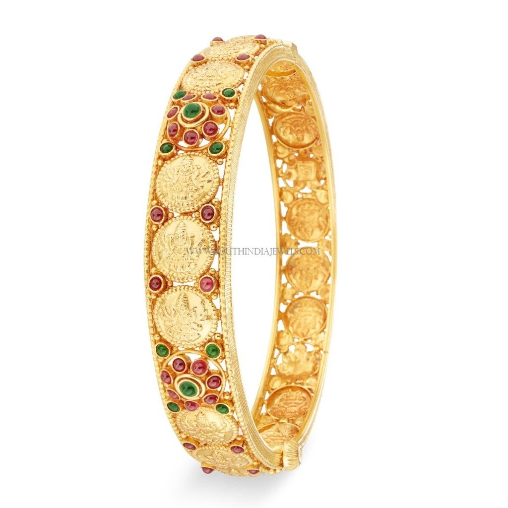 Gold Bangle (Kangan) Designs with Price and Weight | Bangle, Gold ...