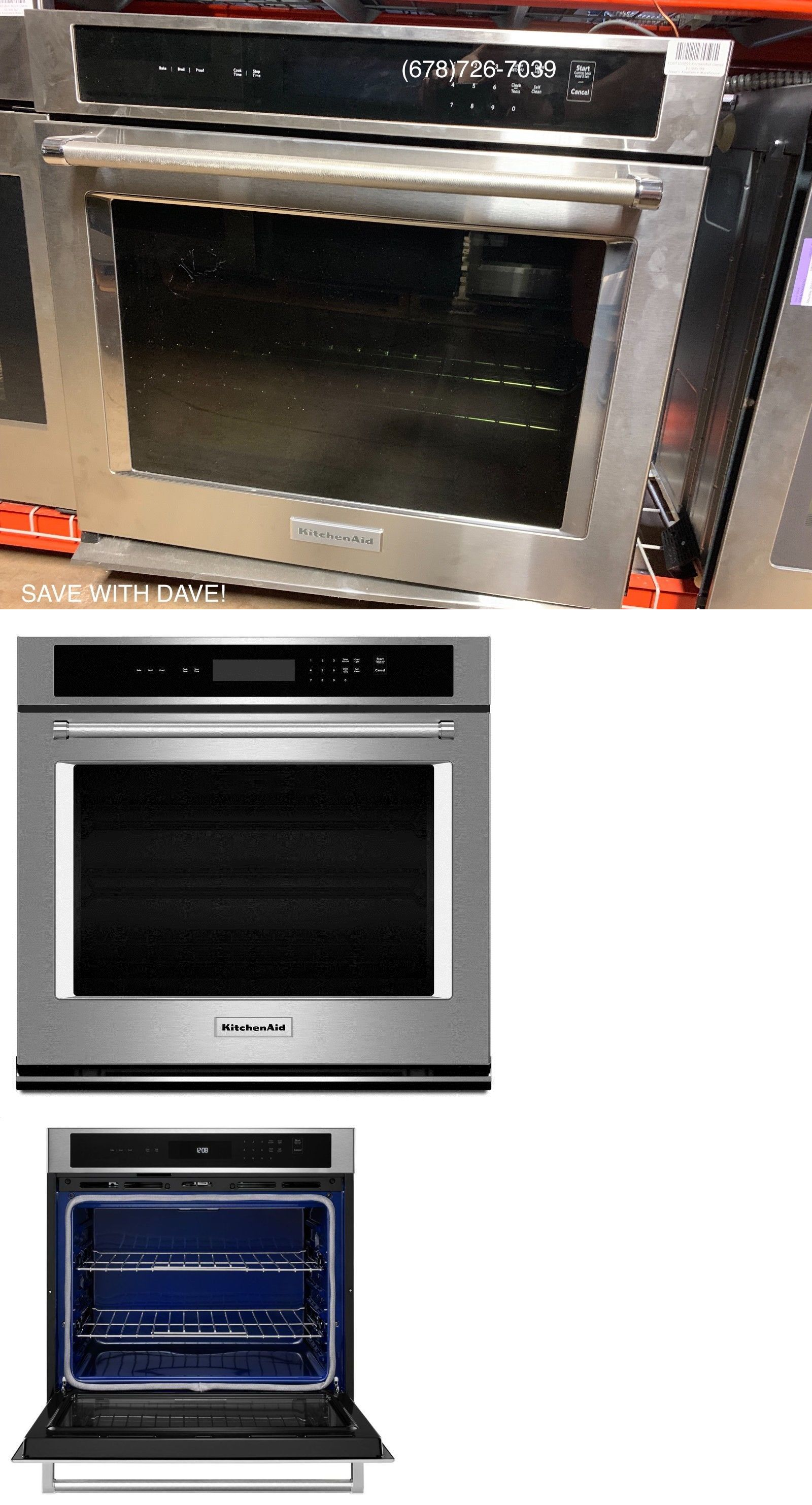 Wall Ovens 71318 Kitchenaid 30 Wall Oven Kost100ess Buy It Now