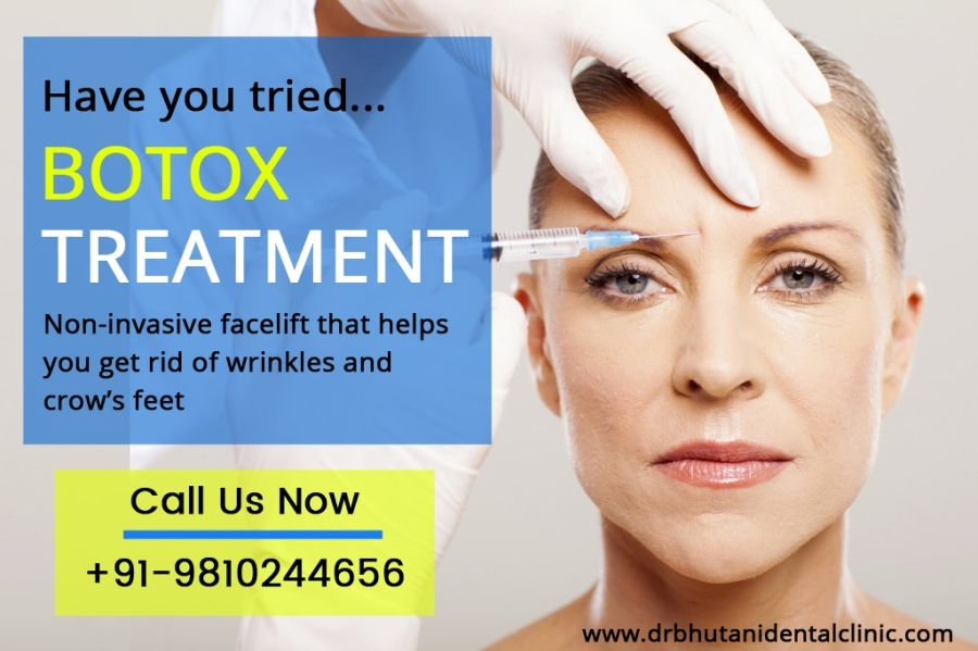 Botox Anti Wrinkle Injection For WrinkleTreatment