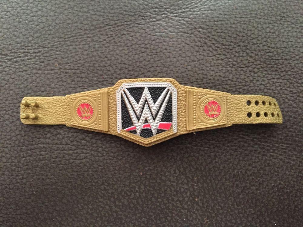 Mattel Basic WWE Championship World Heavyweight Title Belt ...