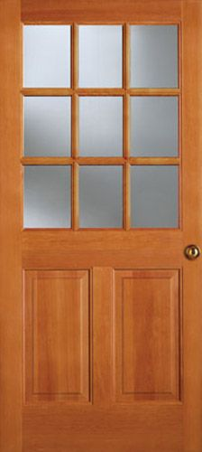 Simpson Traditional 1/2 Lite Entry Door - 944 | 1 - House Ideas ...