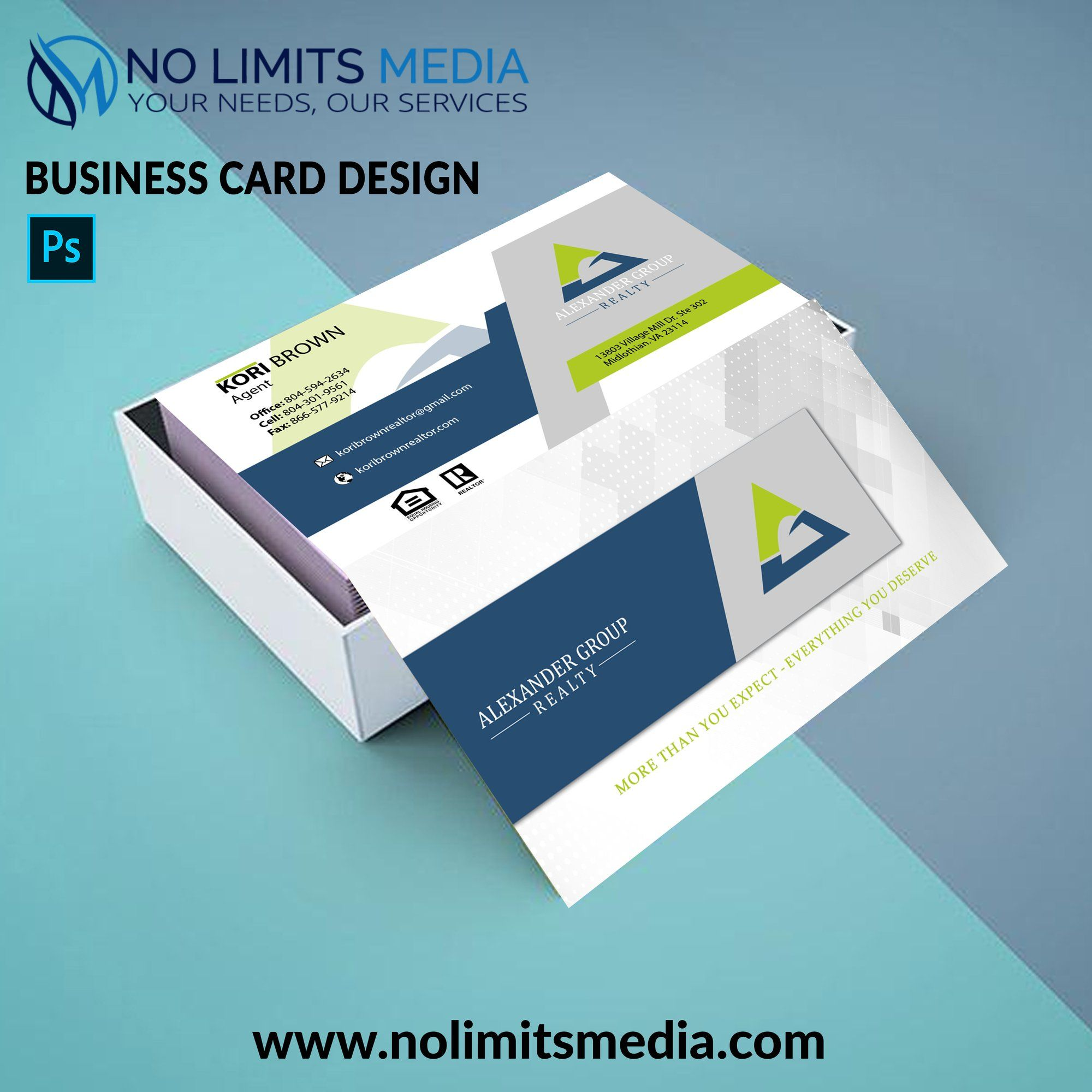 Check Our Business Card Design For Alexander Group Realty This Is How You Should Design Your Business Card Business Card Design Card Design Services Business