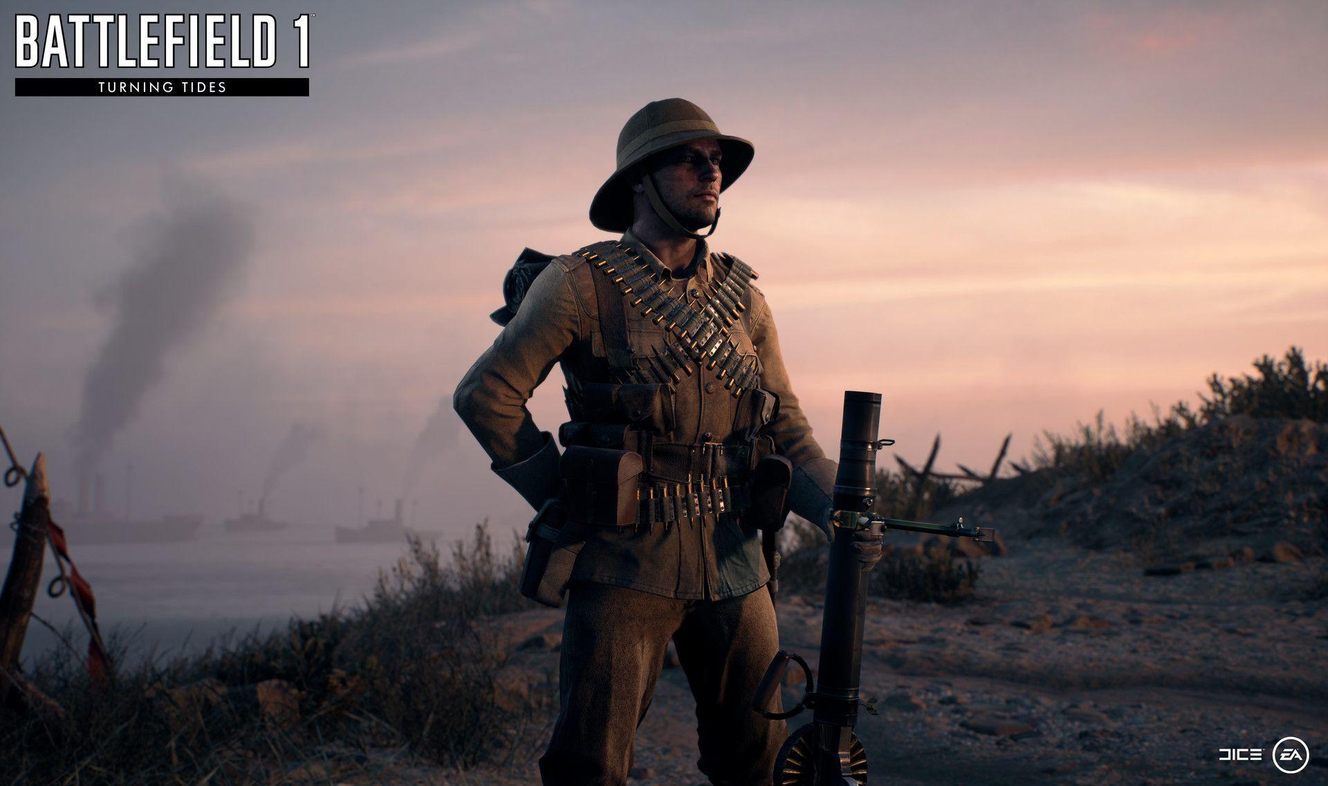 Artstation Battlefield 1 Turning Tides Cape Helles British