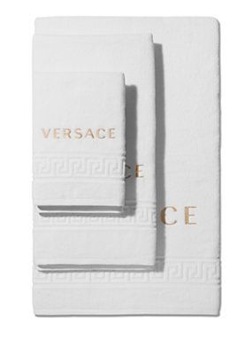 Versace set asciugamani versace home images decor and for Versace bathroom accessories