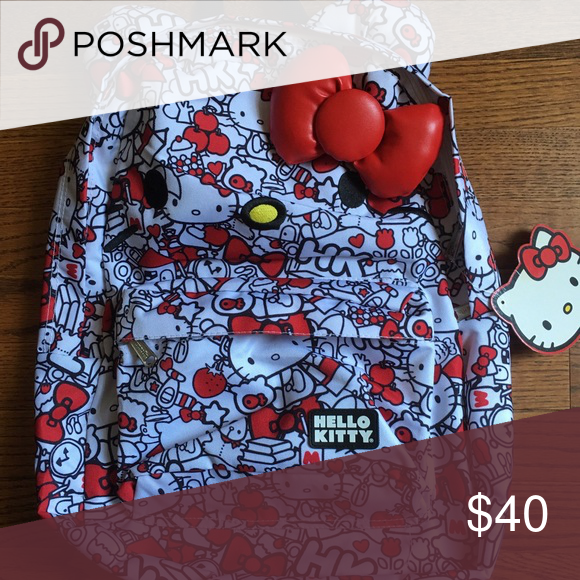 😻NWT😻Hello Kitty Backpack‼️ 😻NWT😻Hello Kitty Backpack‼️ Hello Kitty Bags Backpacks