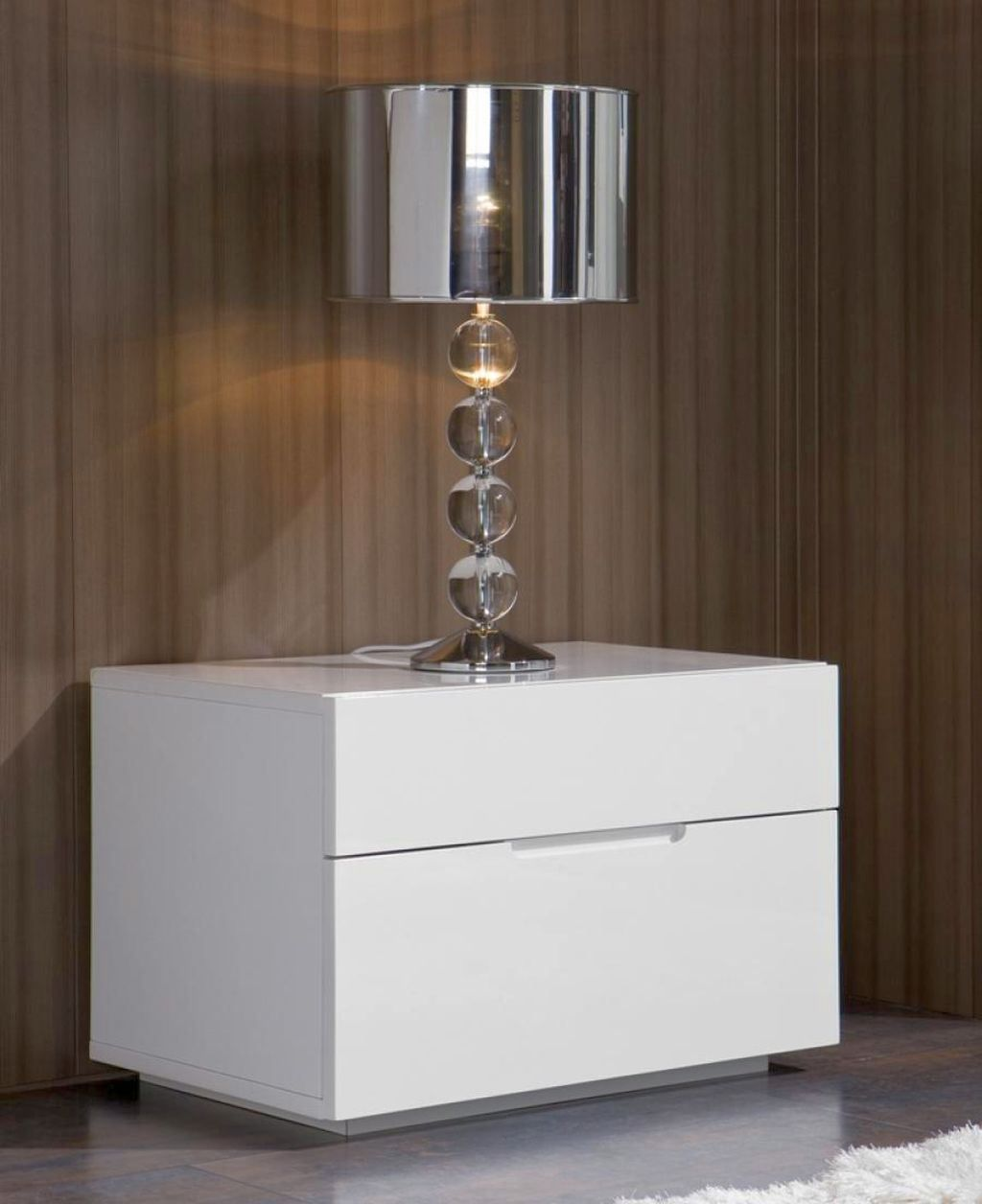 Modern Nightstands White Modern Bedside Table Modern White