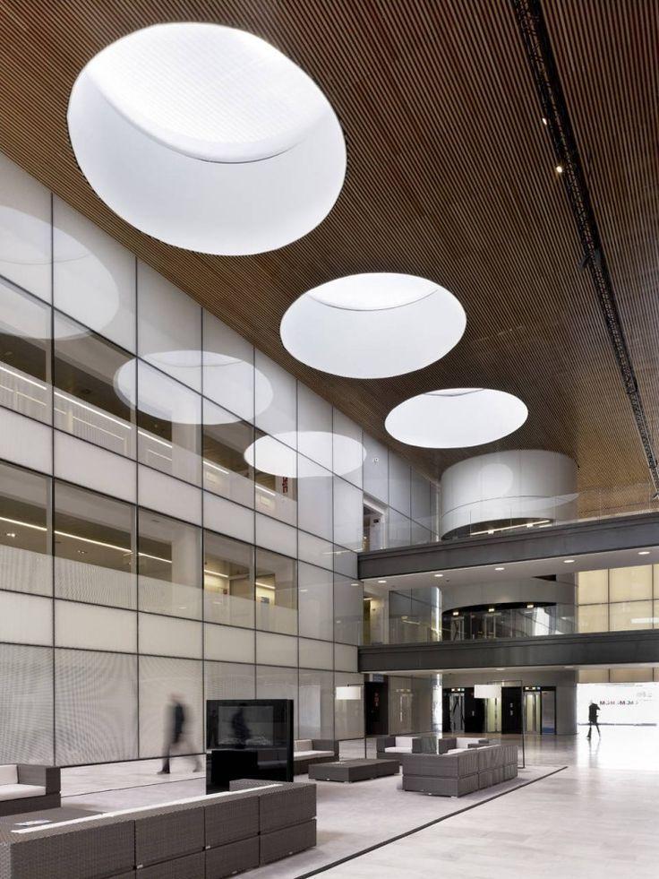 circular hole roof skylight delik daire ışık