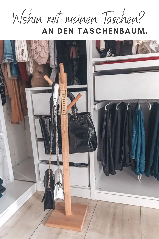 Taschen-Aufbewahrung leicht gemacht. Tipp: Handtaschen