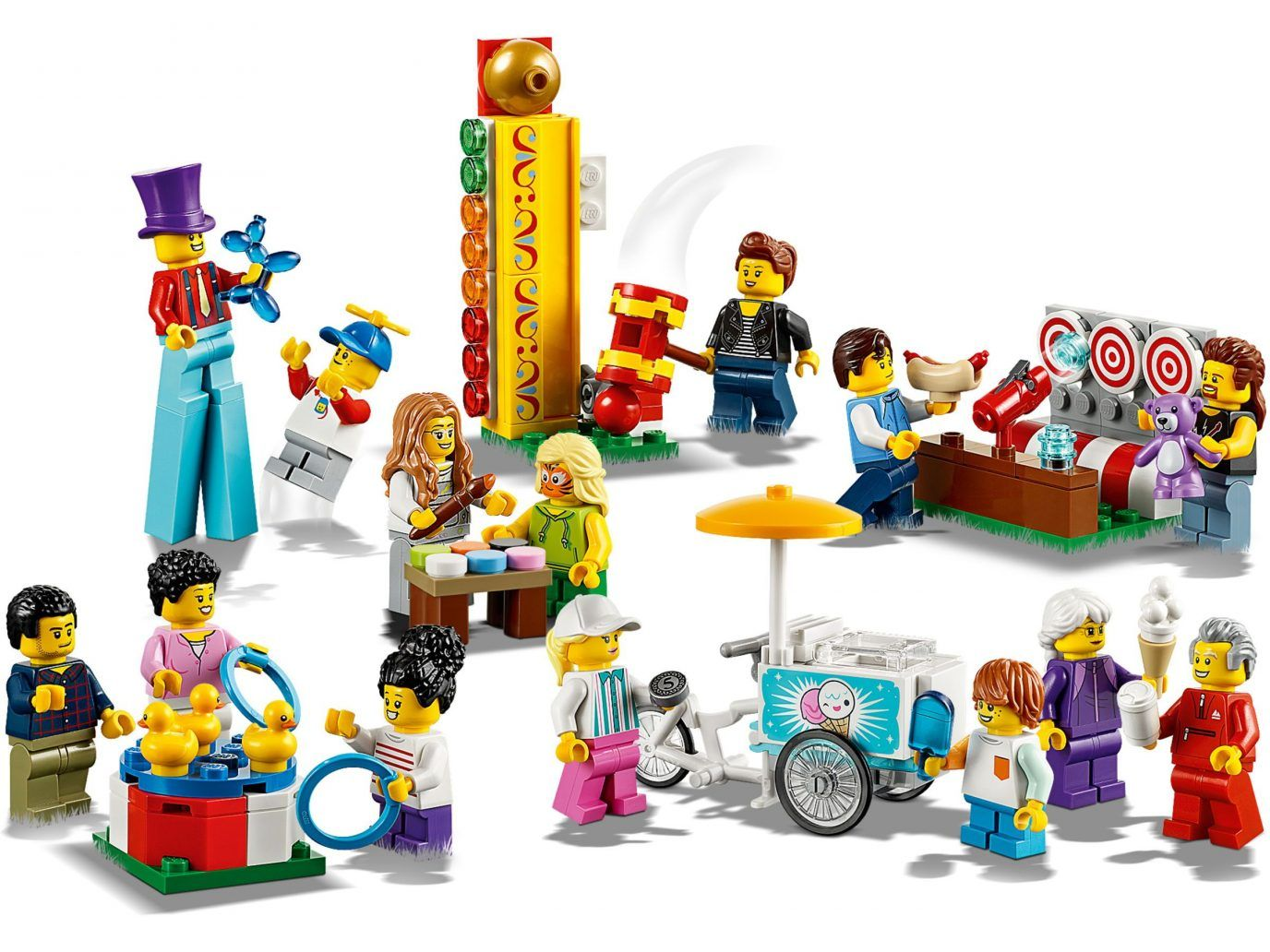 More Lego City Summer 2019 Sets Revealed Including New Fairground People Pack And Donut Shop News The Brothers Brick The Lego City Shop Lego Lego People