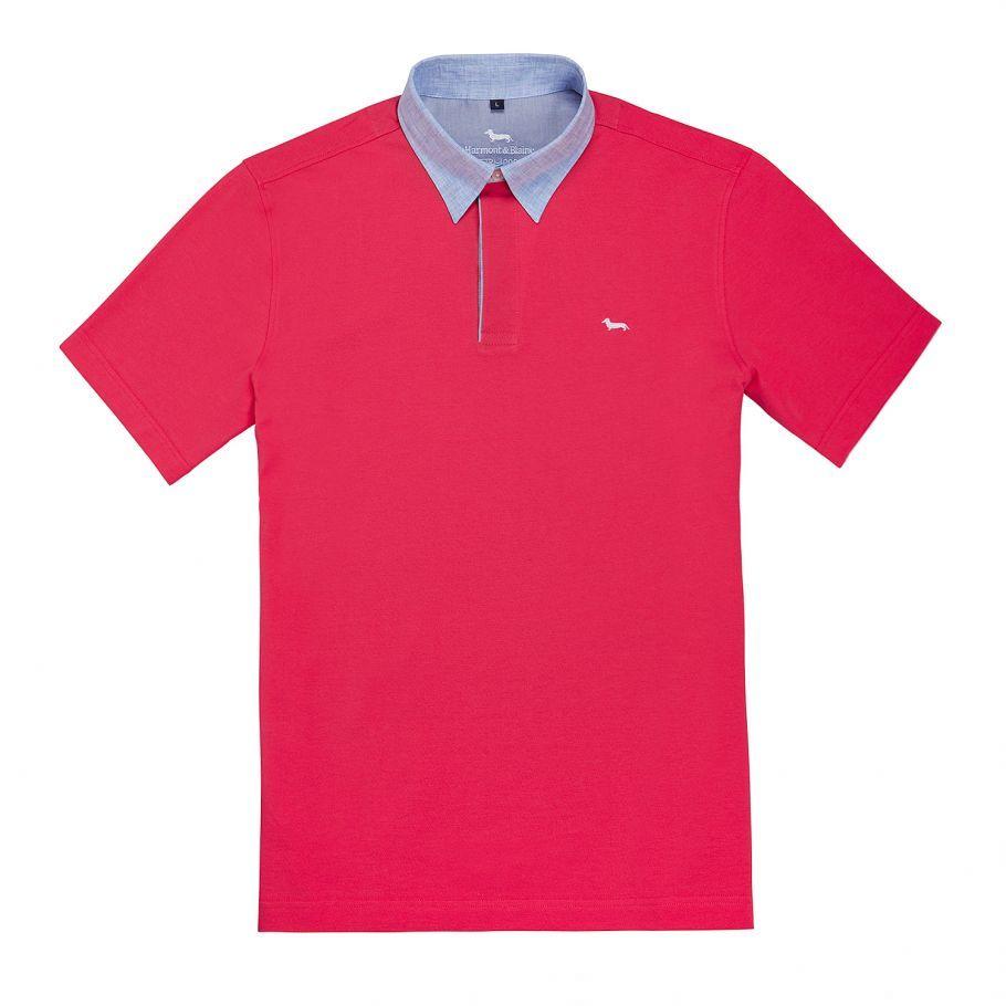 1bc3958ba5 POLO « VIETRI » - ROUGE - Harmont & Blaine Online Store | Shirts