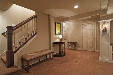 Basement Remodeling Minneapolis staircase - traditional - basement - minneapolis - schrader